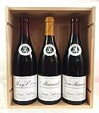 Coffret Prestige Vins de Bourgogne Grandes Appellations - 1 Meursault 2017 + 1 Vosne-Romanée 2015 + 1 Morey Saint-Denis 2015 !