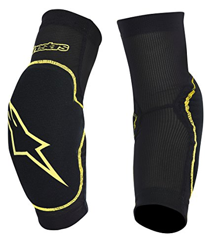 Alpinestars Men's Paragon Elbow Protector, Black/Yellow, Large