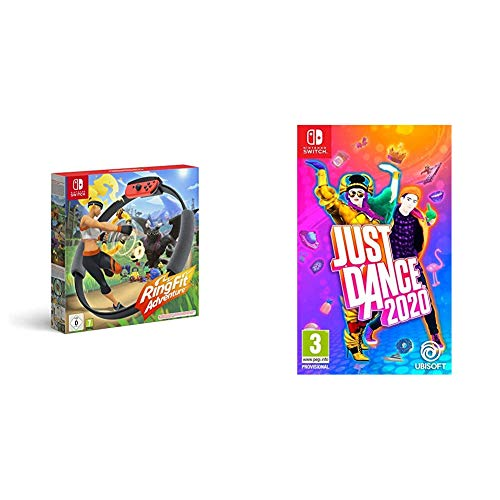 Ring Fit Adventure - Nintendo Switch & Just Dance 2020 Nintendo Switch