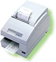 Epson C31C283012 TM-U675 Receipt-Slip-Validation Printer 46 Lines Per Second Serial Interface and No MICR - Requires PS180 - Color Cool White