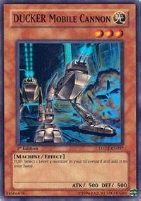 YuGiOh   DUCKER Mobile Cannon (LODTEN037)  Light of Destruction  Unlimited Edition  Super Rare by YuGiOh