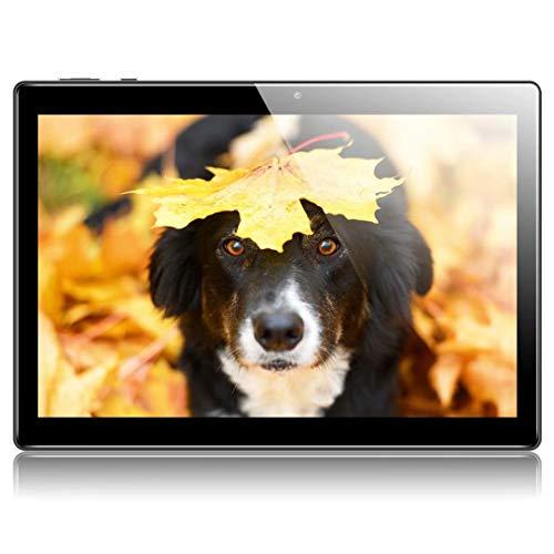 Tablet 10 Zoll Android 9.0 Tablet PC Qimaoo mit 2 GB RAM 32 GB ROM Quad-Core IPS HD (1280 x 800) Dual SIM/Kamera 2MP+8MP 3G Tablets, Type C /WiFi /GPS/Bluetooth/OTG