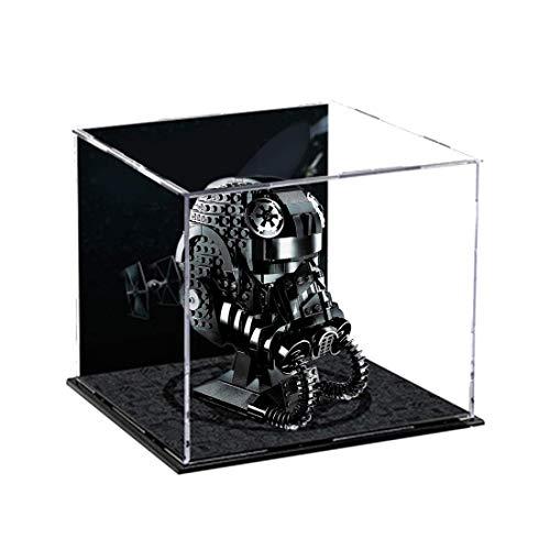Caja de exhibición de acrílico para casco de Lego Star Wars Stormtrooper 75276, 75274