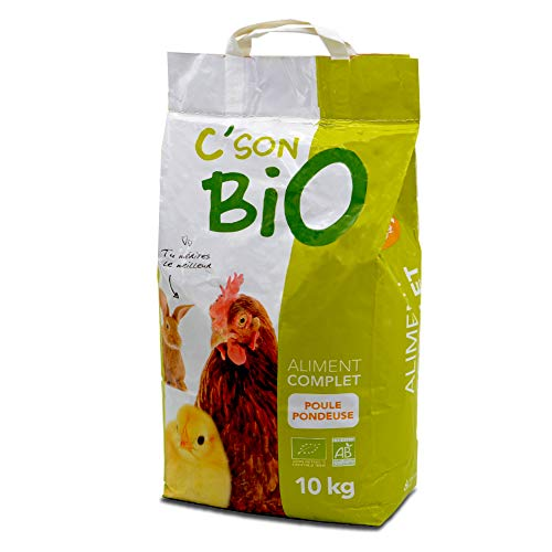 Aliment Complet Bio, Poules pondeuses. Sac de 10 kg