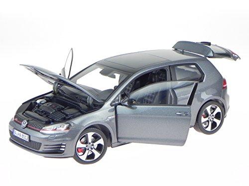 VW Golf 7 GTI 2013 Carbon Steel grau Modellauto 188518 Norev 1:18