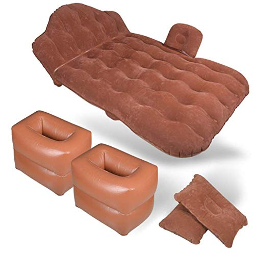 ZXL Auto Opblaasbare Luchtmatras Bed Multi-Functionele Reizen Bed Flocking/Oxford Doek draaibank Outdoor Camping Strand Drijvend Kussen