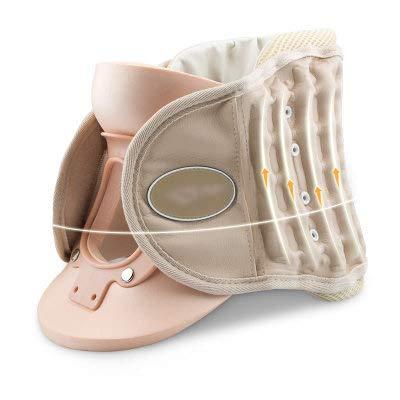 XIONGGG Nackentraktionsgerät, Nackenmassagegerät, aufblasbare und einstellbare Heimtraktion zur Linderung von Nackenschmerzen