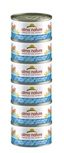 Almo Nature Mega Pack Atún Atlantic 6 latas de 70 g ✅
