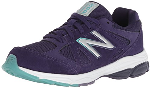 Product Image of the New Balance Kid's 888 V1 Running Shoe, Blue/Multi, 4 XW US Toddler