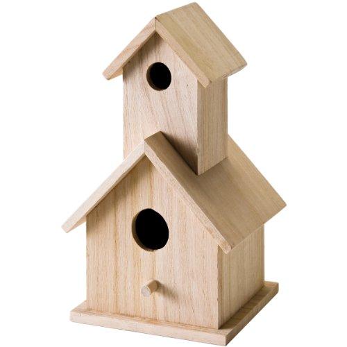 Plaid Surface en Bois Artisanales Birdhouse, 12741 étage