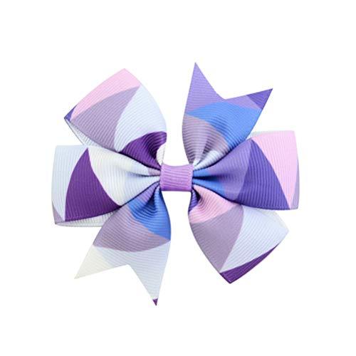 Lurrose 12 piezas estampado arco rayas onduladas