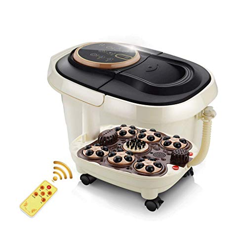 ZYPDD Sharper Image Foot Spa with Bubble Jets, Vibrating Pedicure Spa, Relaxing Foot Bath, Designed for Rough Feet, for Best Result Fill with Warm Wate