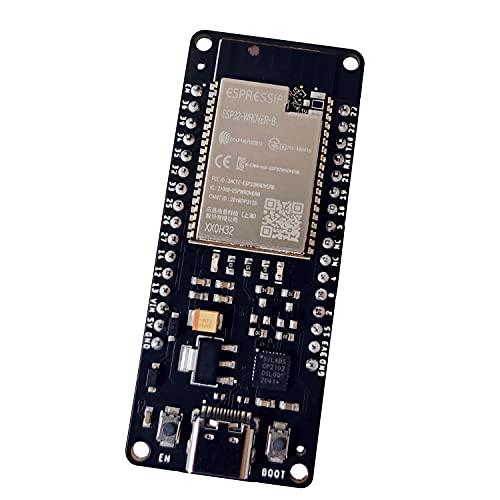 ESP32 Wrover DevKit Board con 4 MB de RAM compatible con Arduino IDE (módulo WiFi & Bluetooth, Sucesor del NodeMCU ESP8266) con Pinout y tutoriales en ingles