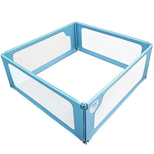 Barrières de lit LHA Garde-Corps pour Enfants lit de Famille Déflecteur incassable résistant à la Casse pour bébé lit Garde-Corps lit bébé 1.8-2.0m, 3 Faces / 1.8mX2.0m
