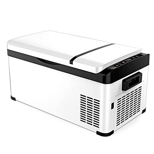 31 litros Frigoríficos, Mini Nevera de Coche portátil Eléctrica, Neveras de Viaje, congelador del automóvil 12V CC Coche Refrigerador, para Hogar Aire Libre Camping