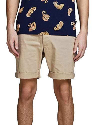 JACK & JONES Herren JJIENZO Chino WW 01 STS Shorts, Beige (White Pepper) , XL
