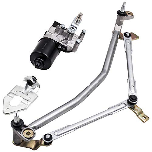 maXpeedingrods Für Polo 9N Scheibenwischer Motor Wischermotor Gestänge 6Q1955119A