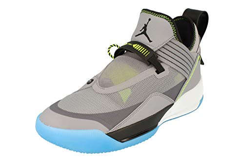 Nike Air Jordan XXXII SE Herren Basketball Trainers CD9560 Sneakers Schuhe (UK 6 US 7 EU 40, Grey Black sail Volt 007)