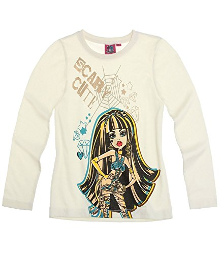 Monster High Chicas Camiseta mangas largas - Blanco - 164