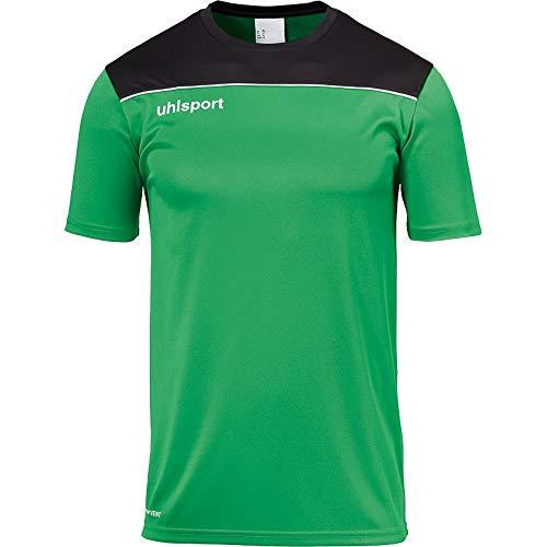 Kempa Kinder Offense 23 T-Shirt, grün/Schwarz/Weiß, 164