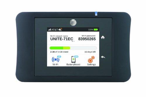 테스트 AT&T 화이트 단결 프로 4G LTE 모바일 와이파이 핫스팟(AT&T)