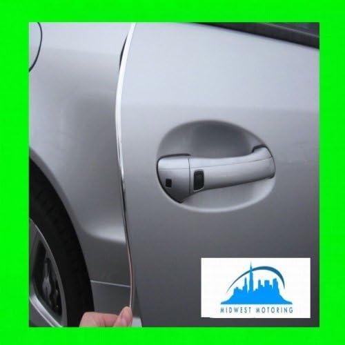 312 Motoring fits 2007-2012 Volvo S60 Chrome Door Edge Trim MOLD