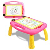 SLHFPX Gift for 3 Year Old Kids,Magnetic Drawing Sketching Writing Table for 3 Year Old Ki...