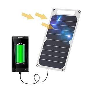 Cargador Solar, 15000mAh Panel Solar Cargador Portátil ...