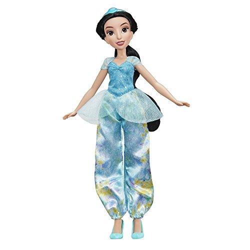 Hasbro Disney Prinzessin E0277ES2 Schimmerglanz Jasmin, Puppe