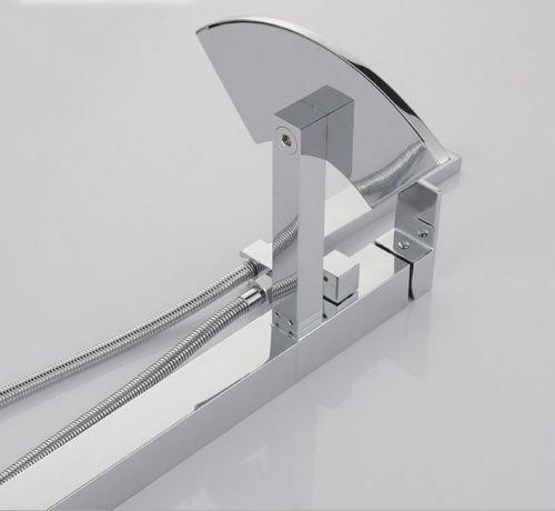 UHM, Wasserfall, Whirlpool Badewanne montieren Filler faucet mixer freistehende Dusche - 7