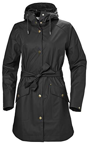 Helly Hansen Kirkwall II Veste de pluie Femme Veste de pluie Femme Noir FR : XS (Taille Fabricant : XS)