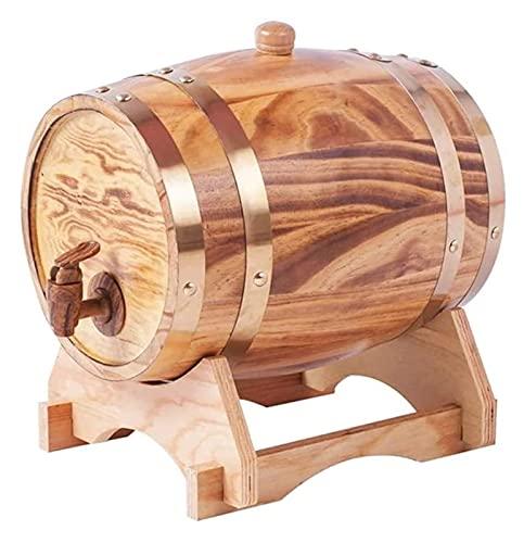 Set di Decanter Decanter per Whisky Decanter per Vino Botti per Invecchiamento in Rovere, Dispenser per Barili di Whisky Secchiello per Vino per La Casa Barile di Whisky per Vino, Liquori, Birra E L