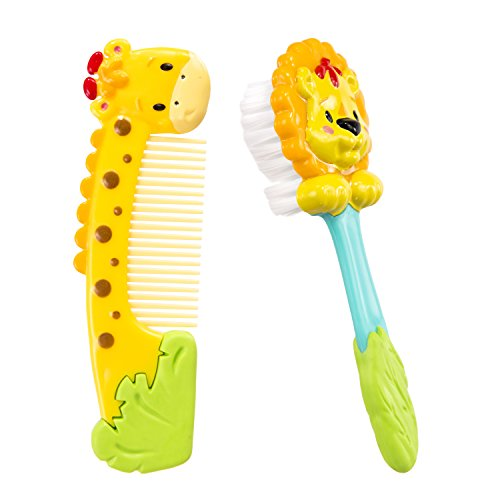 Sassy Soft Grip Comb & Brush by Sassy