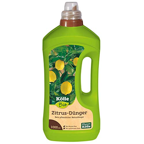 Bio Zitrus-Dünger 1 l, Flüssigdünger für Zitruspflanzen in Bio-Qualität, Düngemittel, Düngung, Kölle Bio Zitrus-Dünger
