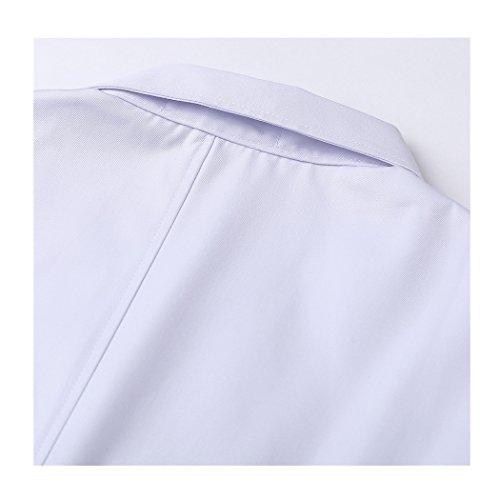 Langärmelige kurze abschnitt kittel ärzte krankenschwestern bekleidung arbeitskleidung arbeit (männer, XXXL) - 6