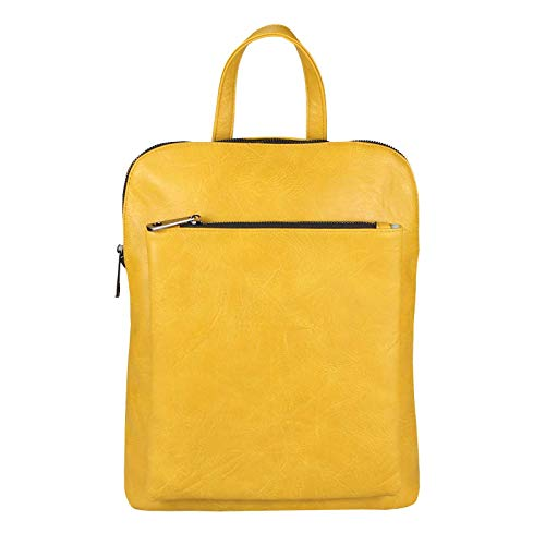 OBC Only-Beautiful-Couture Zaino Casual Giallo Gelb ca.: 32x36x12 cm (BxHxT)