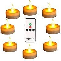 1. Funzionamento semplice e pratico con telecomando, per risparmiare molto sforzo, il telecomando può raggiungere una distanza di 26 ft senza blocco. 2. Queste candele senza fiamma con telecomando possono essere utilizzate senza paura di fiamme, asso...