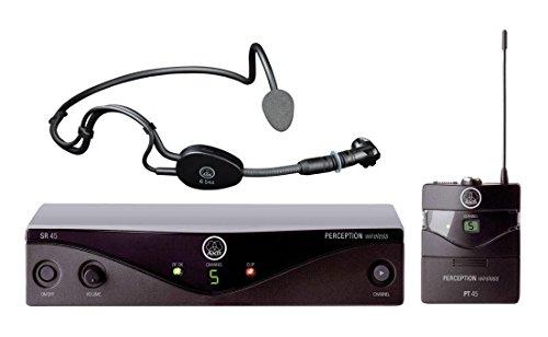 AKG PW45 Sport Set Band M Draadloze headset microfoon voor sporttoepassingen 826-831 MHz