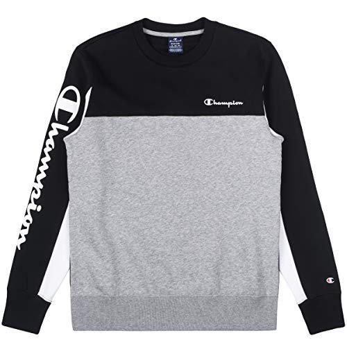 Champion Sweater Herren 213409 F19 KK001 NBK OXGM WHT, Größe:L
