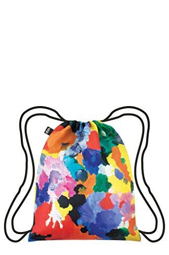 LOQI Museum Ernst Wilhelm Nay Irisches Gedicht Backpack Rucksack, 44 cm, 10 liters, Mehrfarbig (Multicolour)