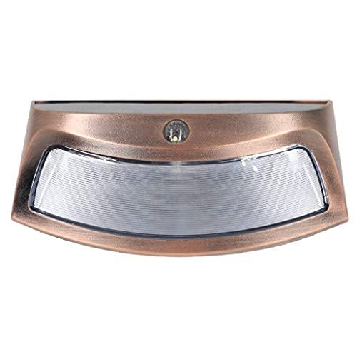Waqihreu Proyector Solar para el hogar, lámpara de Pared de inducción LED para Exteriores, lámpara de jardín súper Brillante para el hogar, Nueva lámpara de Calle Impermeable Rural IP66/65