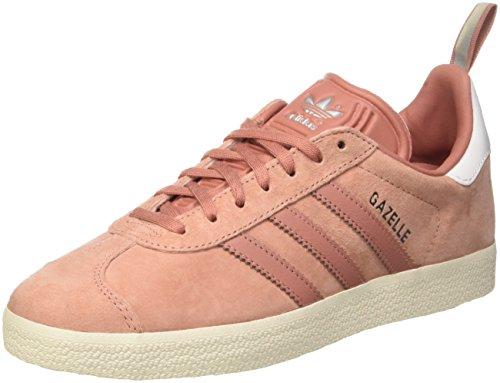 Adidas Originals Gazelle, Zapatillas Unisex Adulto, Varios Colores (Raw Pink/Raw Pink/Silver Metallic), 40 EU
