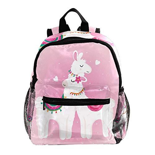 Mochila ligera para la escuela, mochila básica clásica casual para viajar con bolsillos laterales de botella, barco dibujado a mano con olas