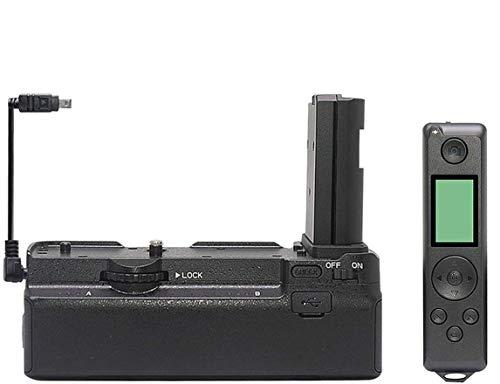 Mcoplus MCO-Z6Z7 - Soporte vertical para cámaras Nikon Z6 Z7 de marco completo sin espejo, reemplazo como el MB-N10, con control remoto inalámbrico 2.4G, color negro