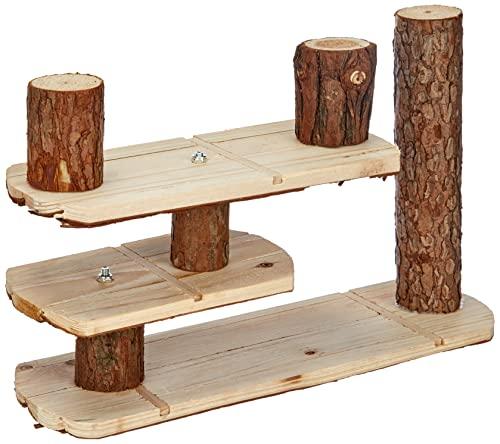 TRIXIE Natural Living escalier pour Petits Animaux, 38 × 24 cm