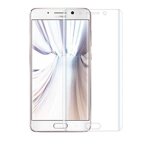 Générique Huawei Mate9 Pro Protection écran Film Verre Trempé Protecteur Plein écran Ultra Résistant Tempered Glass Screen Protector pour Huawei Mate9 Pro [Curved 3D] - Transparent