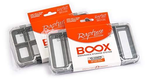 Rapture Vliegenbox Ami magnetische siliconenbox 18 x 10 cm 6 vakken (eerste piano op de foto)