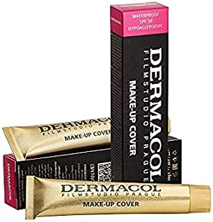 Dermacol Make-up Cover - Waterproof Hypoallergenic Foundation 30g 100% Original Guaranteed from Authorized Stockists (#211)