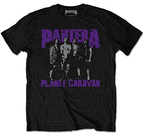 Pantera  Planet Caravan  (Black) T-Shirt (Medium)