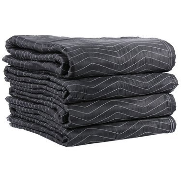 "Cheap Cheap Moving Boxes - Deluxe Moving Blankets (4-Pack) - Size: 72"" X 80"